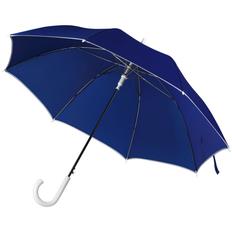 Зонт трость полуавтомат Unit Color, синий фото