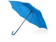 Зонт трость полуавтомат Яркость, голубой фото