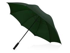 Зонт трость антиветер механический Yfke, темно-зеленый фото