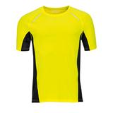 Футболка для бега SYDNEY MEN 180, желтый фото