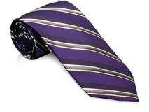 Галстук, фиолетовый фото
