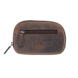 Ключница Yukon, кожа, темно-коричневая фото