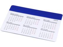 Коврик для мыши Chart с календарем, синий фото