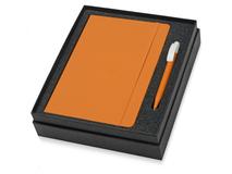 Подарочный набор Uma Vision с ручкой и блокнотом А5, оранжевый фото