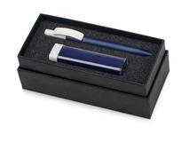 Подарочный набор White top с ручкой и зарядным устройством, синий фото