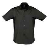 Рубашка мужская BROADWAY, черная фото