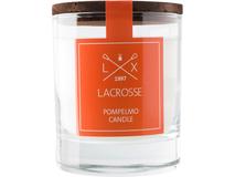 Свеча ароматическая в стекле Грейпфрут, оранжевый фото