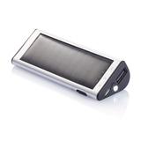 Зарядное устройство на солнечной батарее, 2200 mAh, серебряный/серый фото
