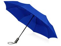 Зонт складной Ontario, синий фото