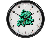 Часы настенные разборные Idea, чёрный фото
