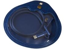 Кабель для зарядки Ecliptic 3 в 1, синий фото