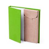 Набор LUMAR: листы для записи (60шт) и цветные карандаши (6шт), зелёный фото