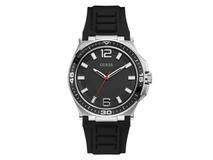 Часы наручные Guess, мужские, d43, стальной/черный фото