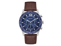 Часы наручные Guess, мужские, коричнево-синие фото