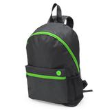 Рюкзак TOWN, чёрный/ зелёный фото