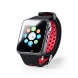 Умные часы DEYMON, чёрный/ красный фото
