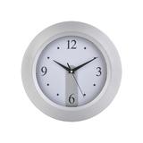 Часы настенные, серый, белый фото