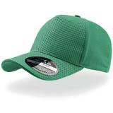 Бейсболка Gear 5 клиньев, застежка на липучке, зеленый фото