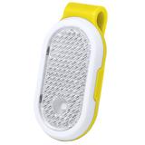 Светоотражатель с фонариком на клипсе HESPAR, жёлтый фото