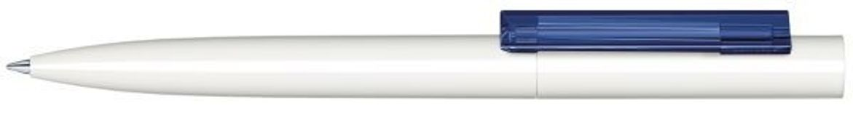 Шариковая ручка Headliner Polished Basic, белый/темно-синий фото