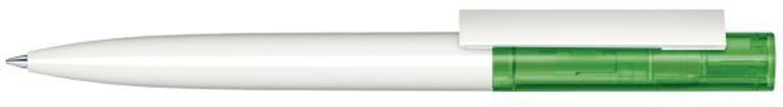 Шариковая ручка Headliner Clear Basic, белая/зеленая фото