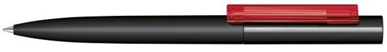Шариковая ручка Headliner Soft Touch, черная/красная фото
