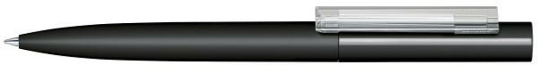 Шариковая ручка Headliner Soft Touch, черная/прозрачная фото