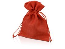 Мешочек подарочный средний, красный фото