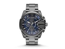 Часы наручные Diesel, мужские, d51, графит/синий фото