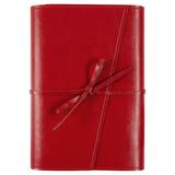 Ежедневник недатированный Адъютант Strap, красный фото
