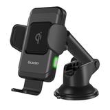 Автомобильный держатель с зарядкой OLMIO Robo QI, 10W, черный фото