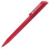 Ручка шариковая TWISTY, красный фото