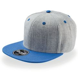 Бейсболка FADER 6 клиньев, плоский козырек, синий фото