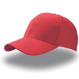 "Бейсболка ""JOLLY"", 6 клиньев, на липучке, красная фото"