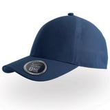 "Бейсболка ""Сap One"", темно-синий, один сплошной клип, 100% полиэстер, 190 грм2 фото"