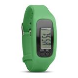 Часы-шагомер, зеленый фото