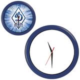 Часы настенные ПРОМО разборные, синий, синий фото