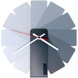 Часы настенные Transformer Clock, бело-серые фото