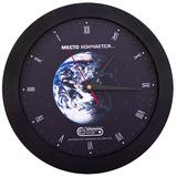 Часы настенные Vivid Large, черные фото