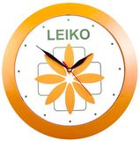 Часы настенные Vivid Large, оранжевые фото