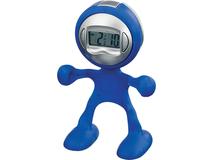 Часы настольные Flexi, синий фото
