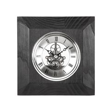Часы настольные Skeleton, черный фото
