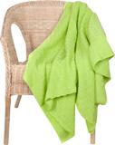 Плед Basket, зеленое яблоко фото