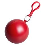 Дождевик в круглом футляре NIMBUS, красный фото