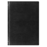 Ежедневник Madrid 5459 (650) 145x205 мм черный, красно-черн.графика, кремовый блок,золотой срез 2019 фото