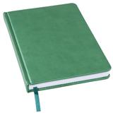Ежедневник недатированный BLISS, формат А5, зеленый фото