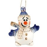 Фарфоровая елочная игрушка Olaf фото