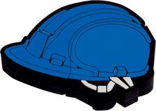 Флеш-карта Каска, 8 Гб, синяя фото