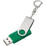 Флешка Twist, зеленая, 8 Гб фото