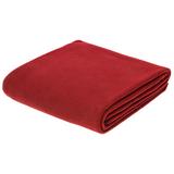Флисовый плед Warm&Peace, красный фото